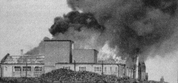 Burndept Electronics and Vox, West Street Works, Erith - fire of 1965