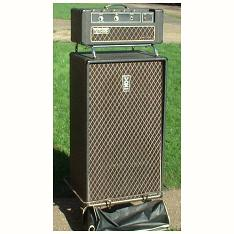 Vox Super Foundation Bass amplifier and speaker cabinet with covers