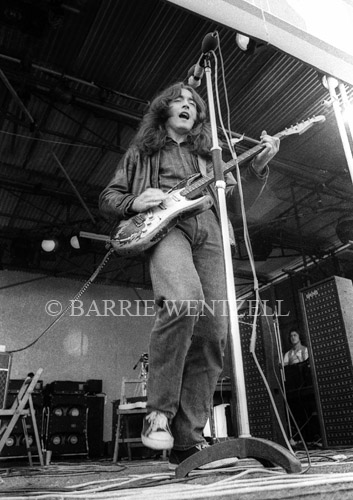 Rory Gallagher with Taste, Isle of Wight, 1970