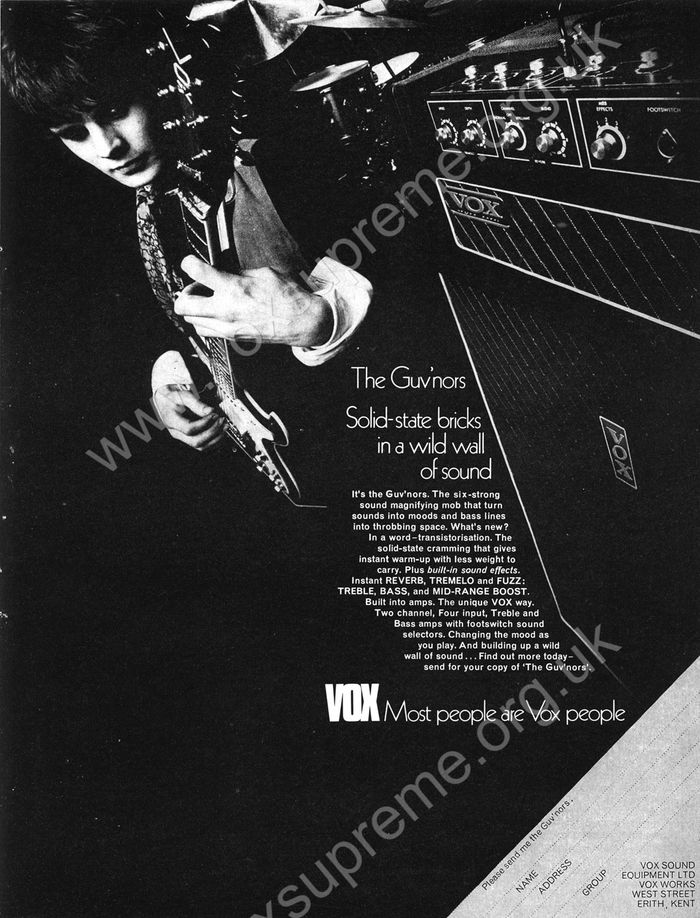 Beat Instrumental magazine, January 1970