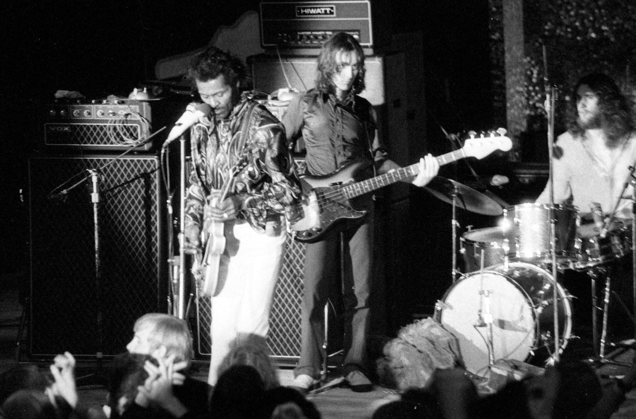 Chuck Berry, Coventry 1972, with Vox Supremes