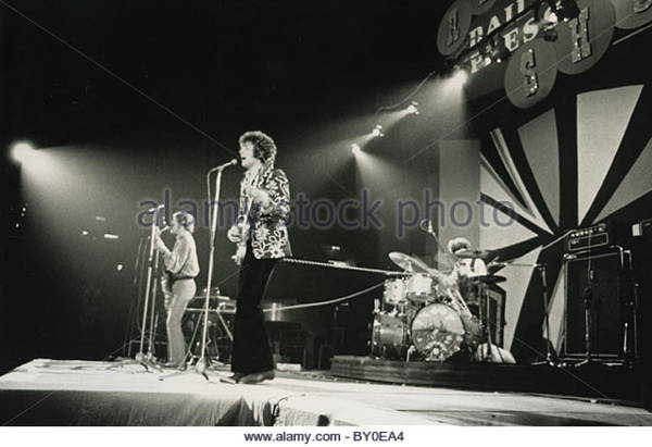Cream playing at Wembley, 1967, with Vox solid state amplifiers