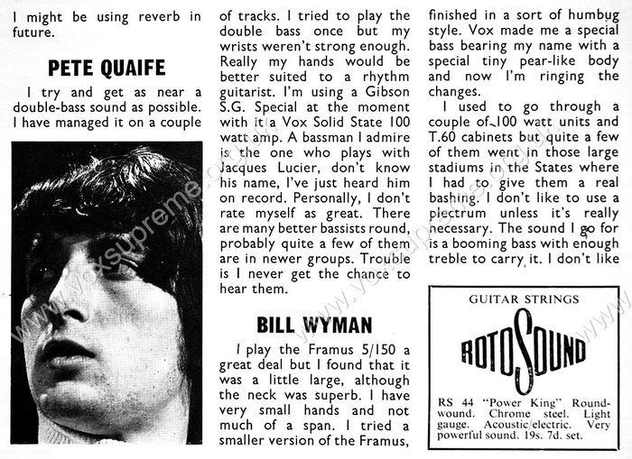Beat Instrumental magazine, July 1967