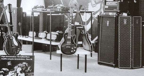 Vox Sound Equipment Limited display at the Russell Hotel, August 1969
