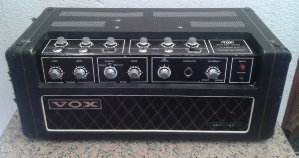 Early Vox Supreme amplifier