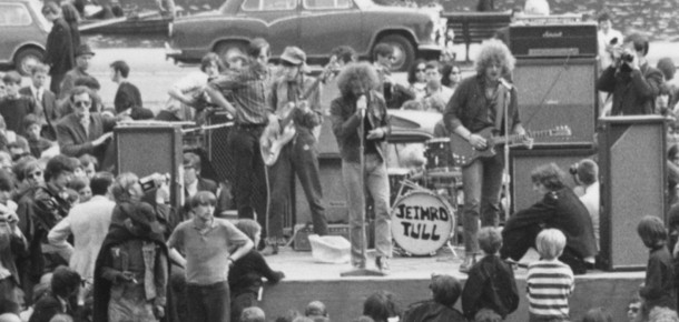 Jethro Tull, Hyde Park, June 1968