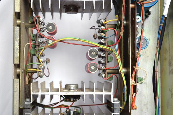Vox Midas amplifier, serial number 1053, chassis detail