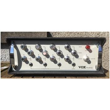 Vox SS50 Public Address amplifier, serial number 1289