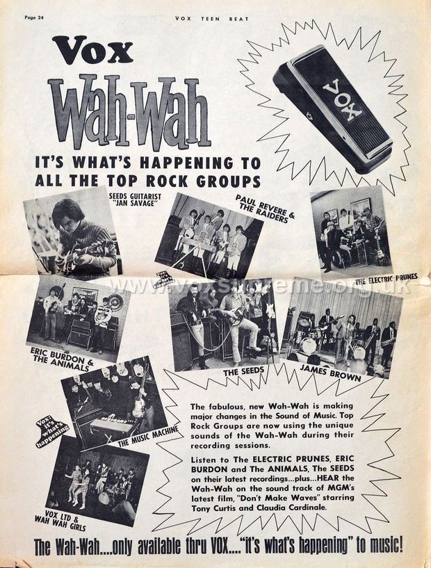 Vox Teenbeat Magazine, volume II, no. 2, early 1967