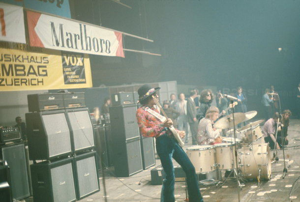 Vox Supremes at Zurich Hallestadion, May 1968