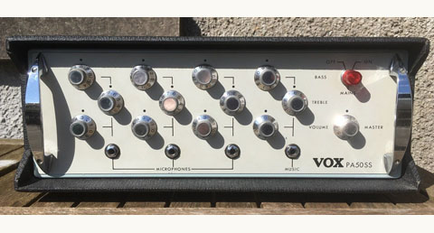 Vox PA50SS solid state public address amplifier