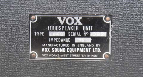 Vox Sound Equipment Limited Linesource 40 public address speakers