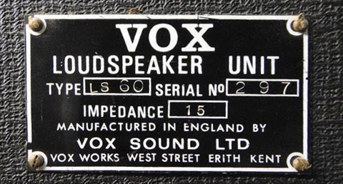 Vox Sound Limited Linesource 60 public address speakers