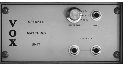 Vox Multi-Link impedance matching transformer